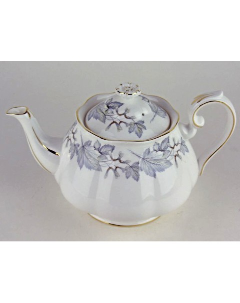 (OUT OF STOCK) ROYAL ALBERT SILVER MAPLE TEAPOT